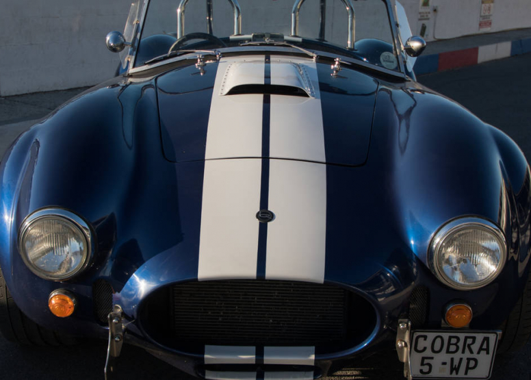 Blue With White Stripes - Full Fay Cobra Experience image 3