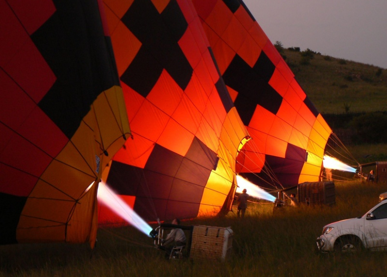 Exclusive Hot Air Ballooning Safari Flight for Two image 9