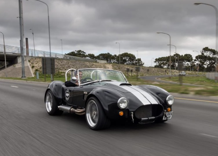 Blue With White Stripes - Full Fay Cobra Experience image 4