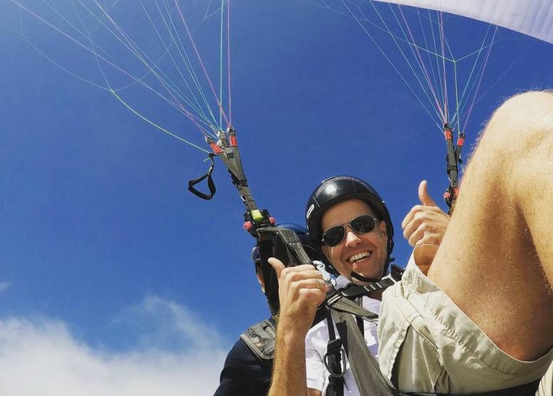 Tandem Paragliding Flight image 17