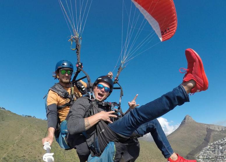 Tandem Paragliding Flight image 18