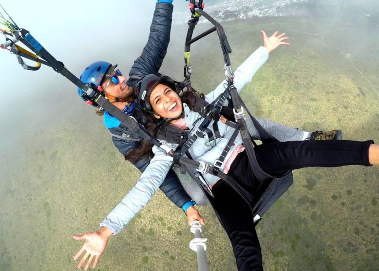Tandem Paragliding Flight image 6