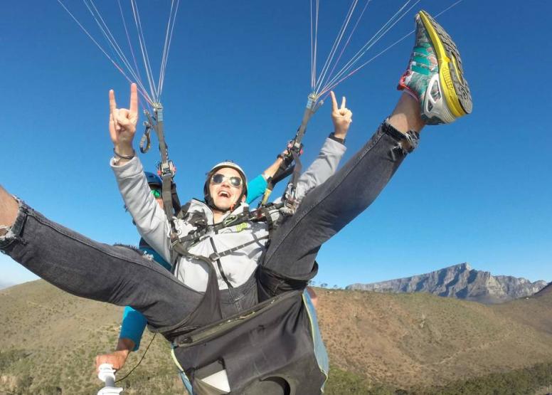 Tandem Paragliding Flight image 13