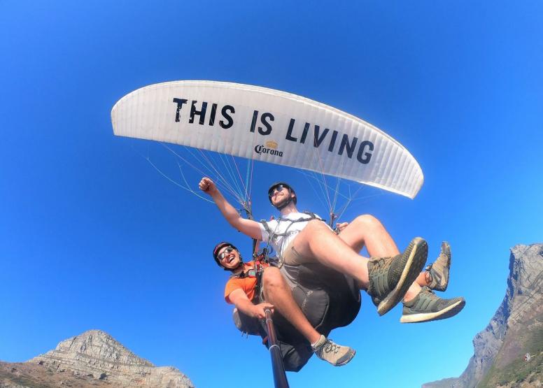 Tandem Paragliding Flight image 15