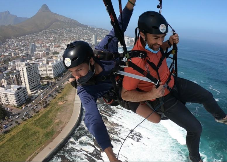 Tandem Paragliding Flight image 5