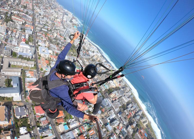 Tandem Paragliding Flight image 19