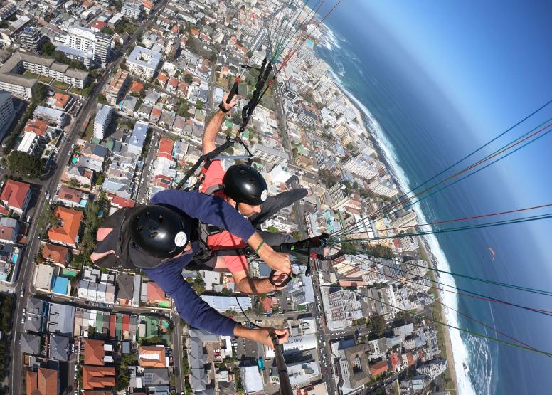 Tandem Paragliding Flight image 11