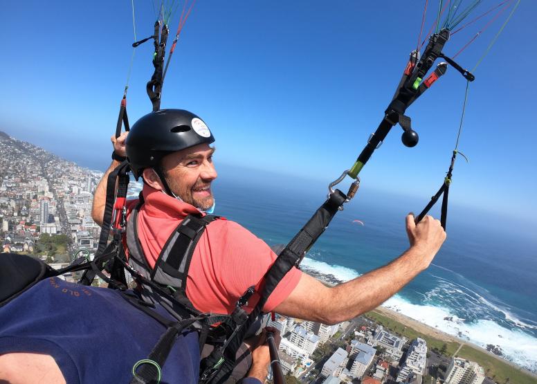 Tandem Paragliding Flight image 8