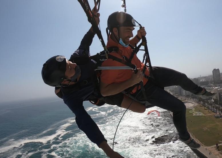 Tandem Paragliding Flight image 12