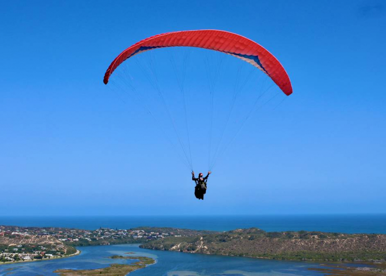 Tandem Paragliding Experience image 4