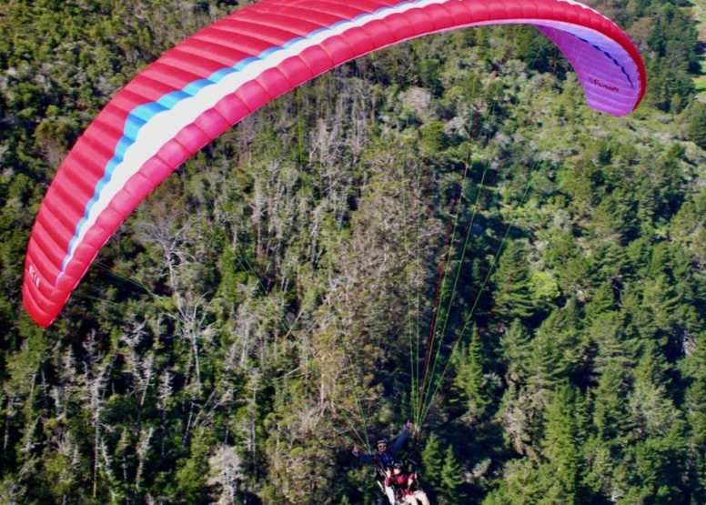 Tandem Paragliding Experience image 6
