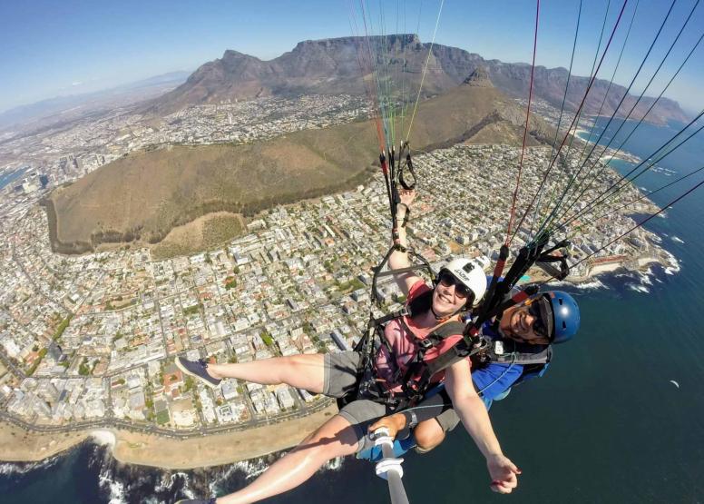 Tandem Paragliding Flight image 16